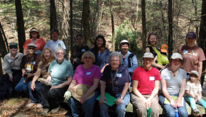 Women and Their Woods participants during the Spring 2012 workshop in Bradford County, PA.