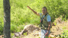 Barrie Brusila, forester and woodland owner