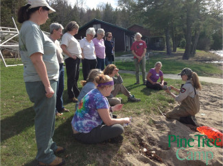 Women and Our Woods workshop, Rome, Maine