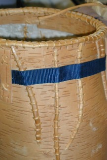 Birch Bark Barrel
