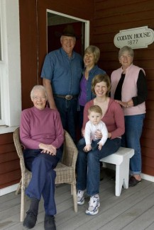 Four generations on the land