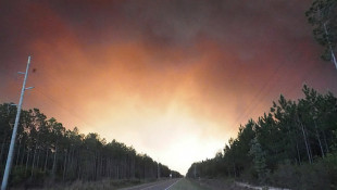 Okefenokee wildlife refuge wildfire courtesy of Michael Lusk and Flickr
